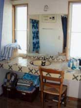 お客様のお好みのタイルで作ったオリジナル洗面化粧台