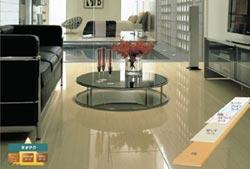 耐傷性フロア(床材)「ダイハードアートA01V」