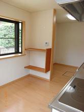 キッチン(写真奥は食品庫)