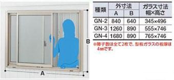 ガラス窓・網戸