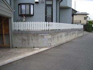 フェンス取付
