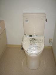 トイレ。内装及び便器も新しく