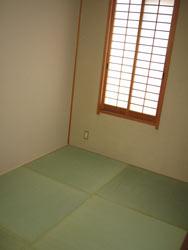 和室。内装・畳を新調