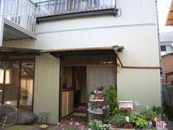 リフォーム前(木製の玄関ドア)