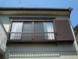 リフォーム後(断熱性の高い窓(雨戸付)に交換)